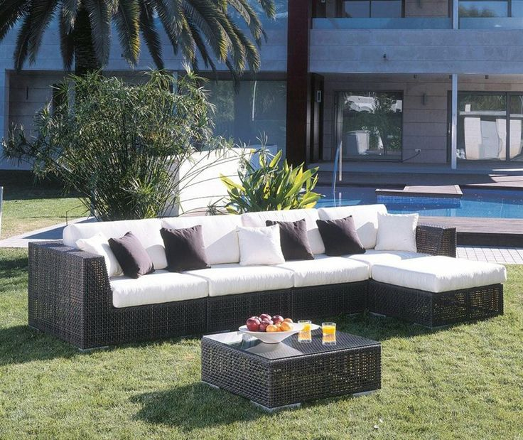 Hospitality Rattan 3 PC SET 903 SOFA Z 6 Soho 3   Outdoor Wicker FurnitureSectional  Patio. 96 best Home    Modern Outdoor Furniture images on Pinterest