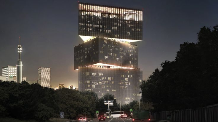 OMA+Unveils+Nhow+Hotel+Rai+Project+in+Amsterdam