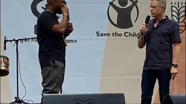 Usher's speech about poverty, Munich, June 6, 2015