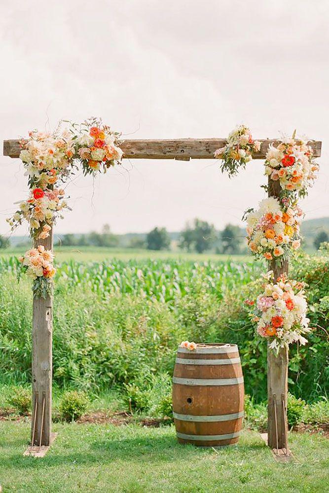 Outdoor Wedding Decorations Ireland : Outdoor wedding alters altar decorations and
