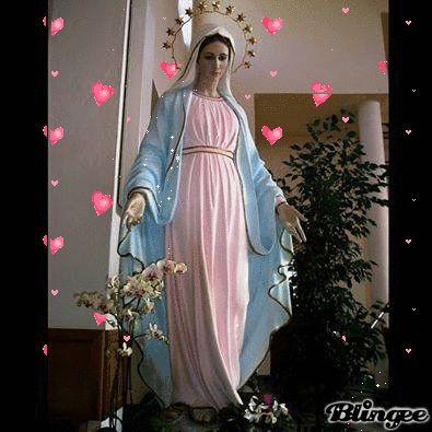 dfa4a1f31fe GRACIAS, MADRE MIA | Virgen Santa | Pintura de jesús, Virgen maría y ...