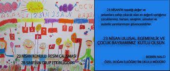 23 nisan resim yarışması 8. sınıf ile ilgili görsel sonucu