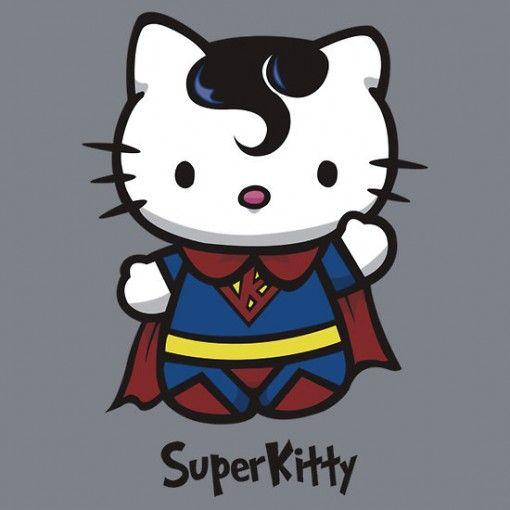 Hello Kitty Superman