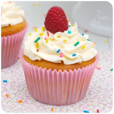 Cupcake de Framboesa | Vídeos e Receitas de Sobremesas