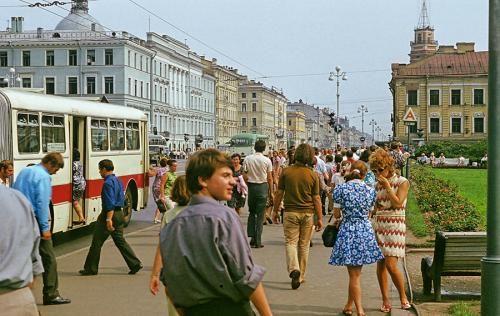 Billeder af Leningrad 1972