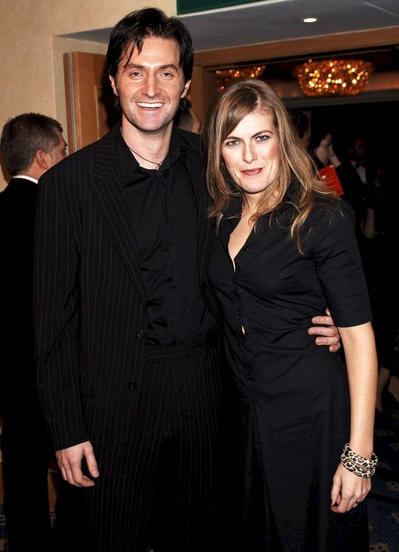 Richard Armitage and Annabelle Capper.  Annabelle is performing with Richard next week (January 2014) in New York.   A reading ON STAGE! 92Y!!!