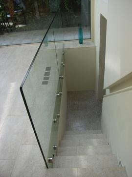 Glass balustrade