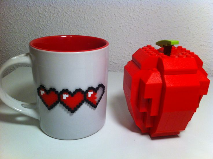 A hot beverage will restore your life - una taza de algo caliente te volverá a la vida #hamabead #geek #mug