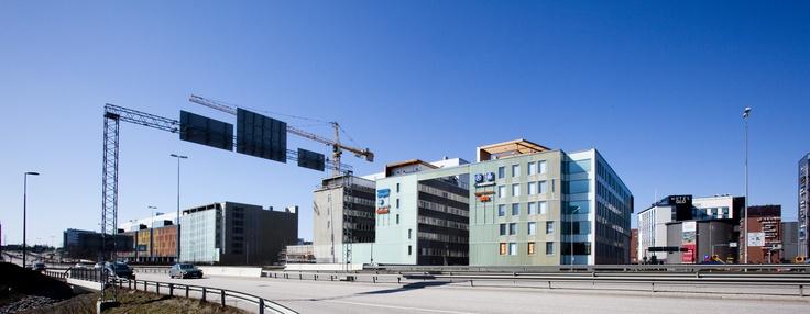 Alberga Business Park Leppävaarassa nousee vauhdilla Kehän varteen