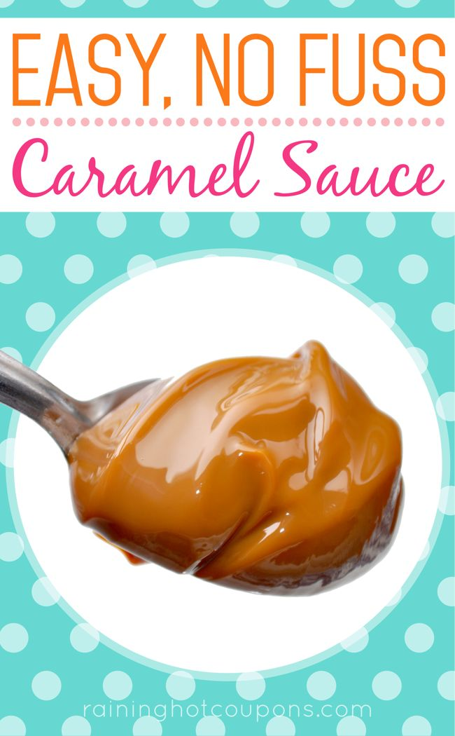 how to make thick caramel sauce