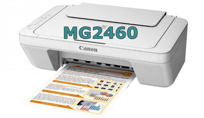 Canon PIXMA MG2460 Driver Download, Mac, Windows, Setup, Ink