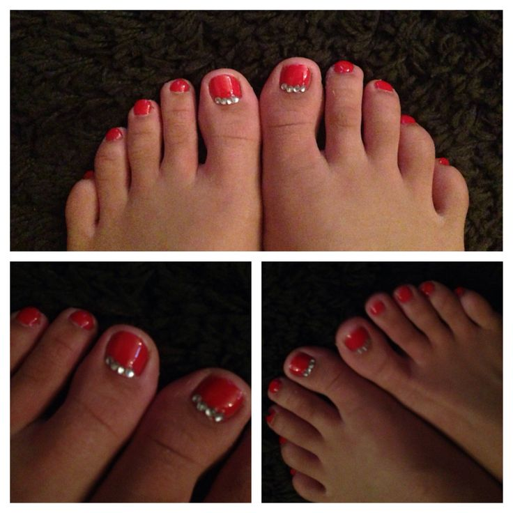 Toes done by me