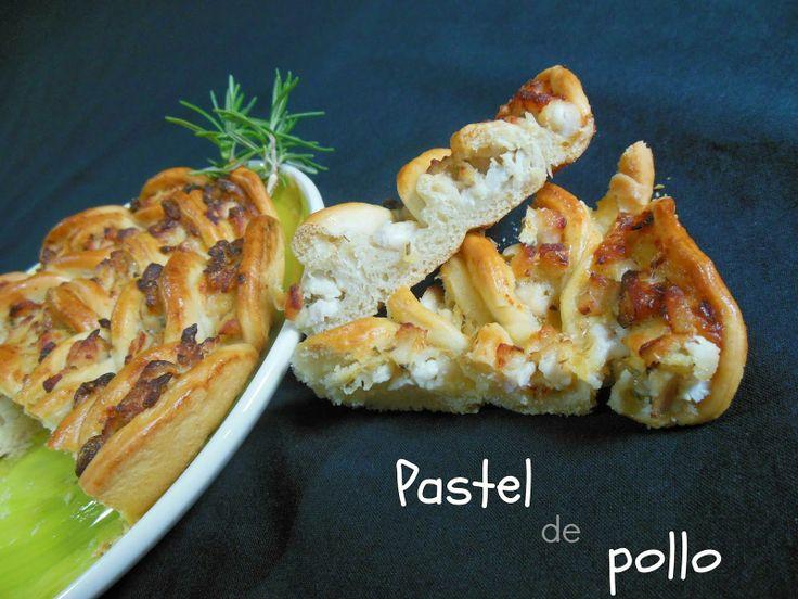 Cocinando en Mislares: PASTEL de POLLO