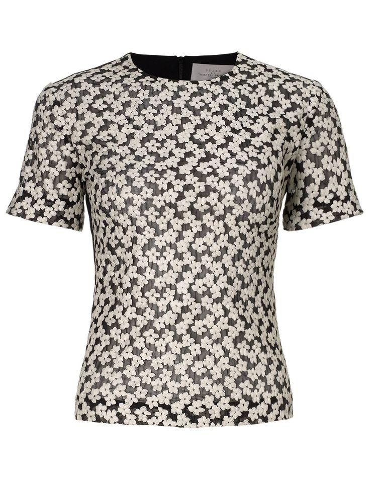 Daisy Stitched Flower Top | Preen | Avenue32 #fashion #sale