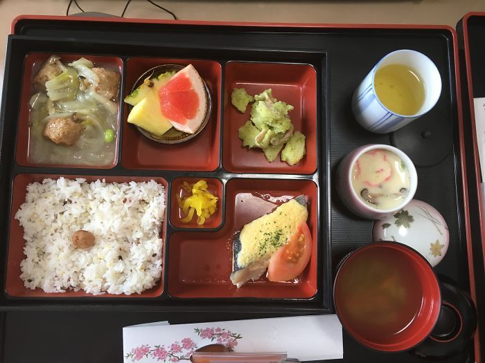 Oct 6, 2017 - BoredPanda - Woman Gives Birth In Japan, Shows What Food She Was Fed In The Hospital -