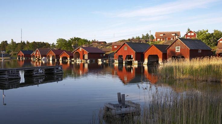 Harstena Marina: Valdemarsvik Municipality, Sweden