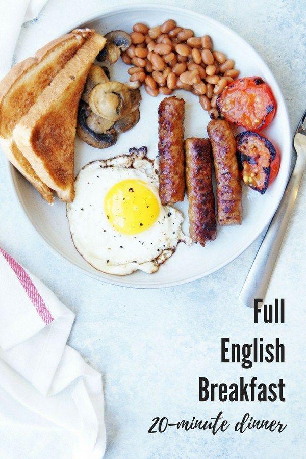 Healthy Full English Breakfast Resep Sarapan