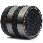 $8.89 DG530 Mini Wireless Portable Speaker. This one is for those who don't like wires and do love loud speakers. It's too small for that kind of volume. You can play Radio, YouTube and even music from your memory card.