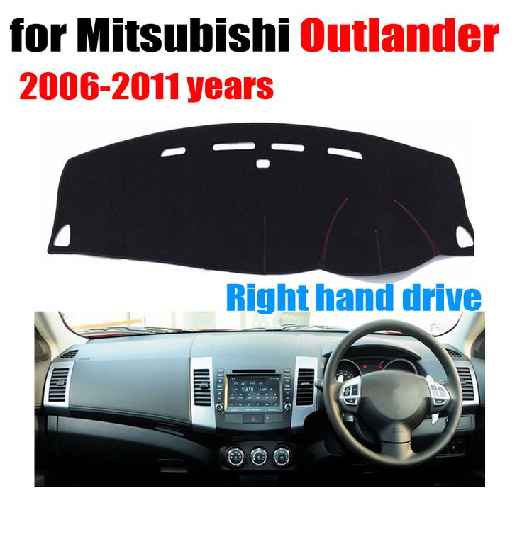 Car dashboard Covers mat For Mitsubishi Outlander 2006-2011 years Right hand drive custom dashmat car dash pad  auto accessories