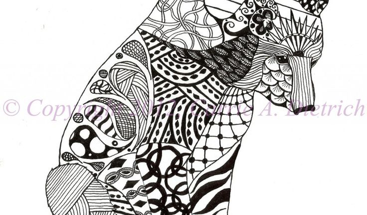 Abstract Art Black And White Animal Wallpaper Cool Free ...