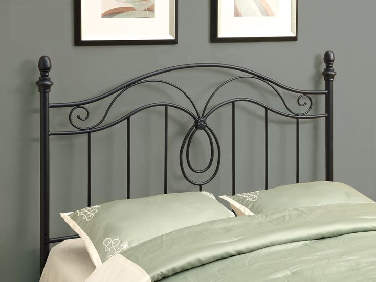 Queen/Full Metal Headboard - Black . . . #furniture #homedecor #interiordesign #design #decor #home #living #office #family #entertainment #luxury #affordable #sale #discount #freeshipping #canada #toronto #usa #america #fashion #design #bedroom #comfort #happy #style #rest #relax