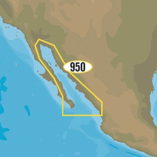 C-MAP MAX-N NA-Y950 - Gulf of California, Mexico