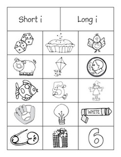 FREE short 'i' long 'i' sort