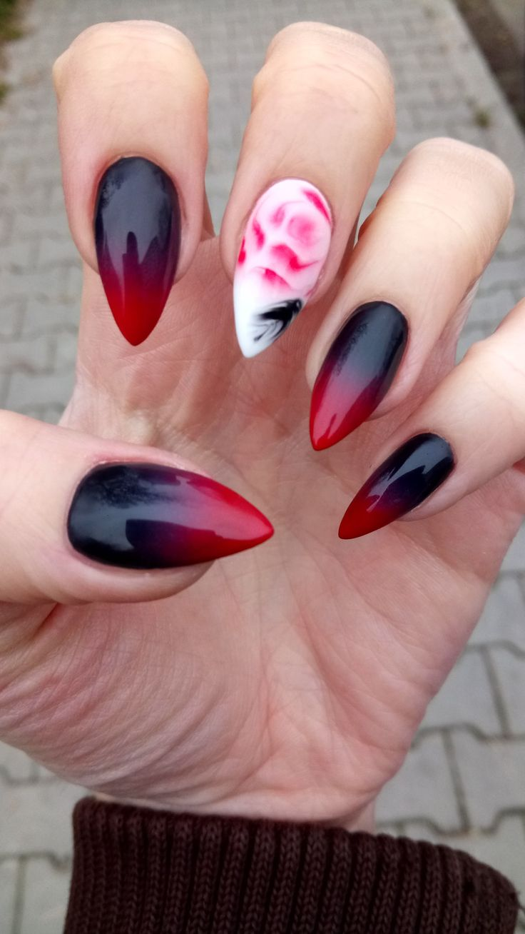 15 best Aquarelle nails images on Pinterest | Nailart, Beauty and Beleza