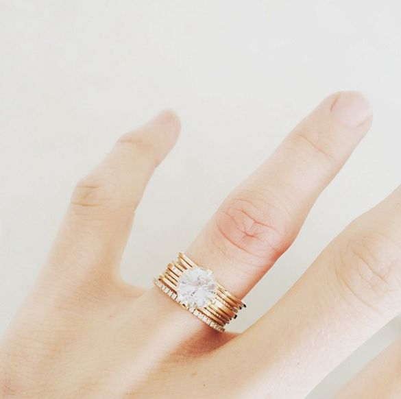 Natalie Marie Jewelry Bespoke Collection Engagement Ring