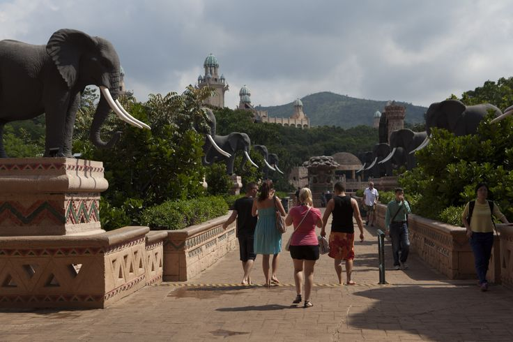 Bridge of Time at Sun City #SunCity #Holiday #Africa #SouthAfrica #Adventure #Travel #Adventure #Sun