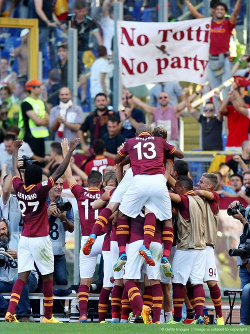 #Roma remains perfect in Serie A!