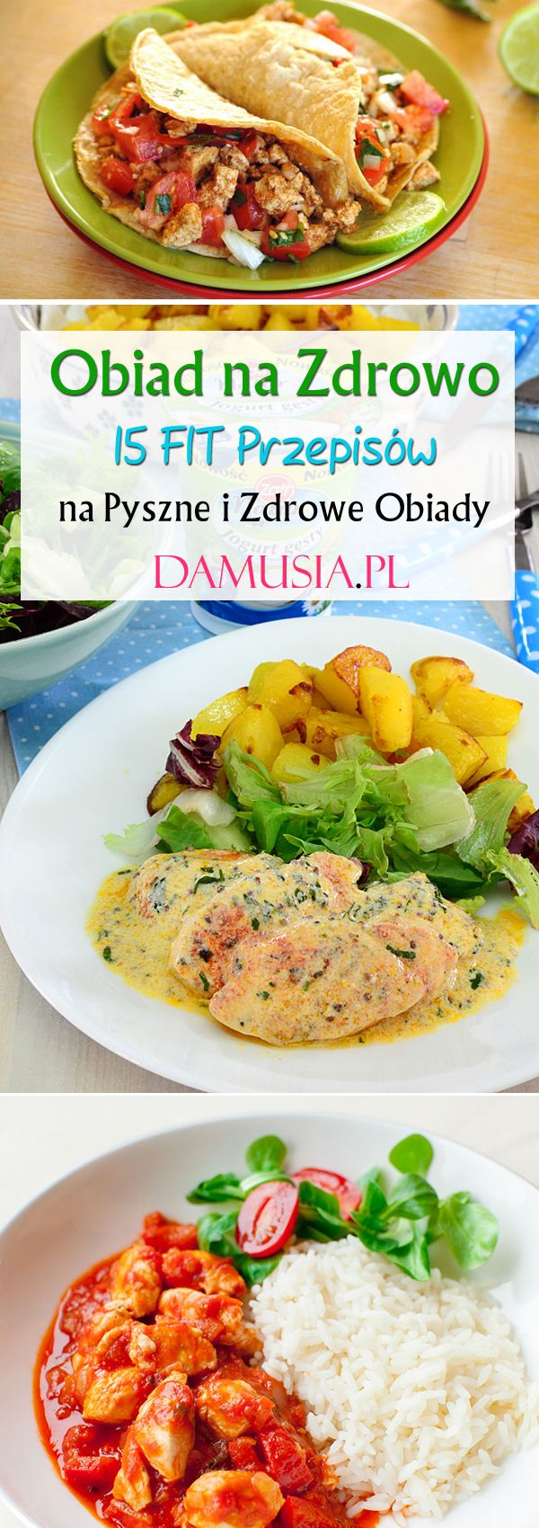 Obiad Na Zdrowo 15 Fit Przepisow Na Zdrowy Obiad Healthy Lunch Healthy Lunch Recipes Workout Eating