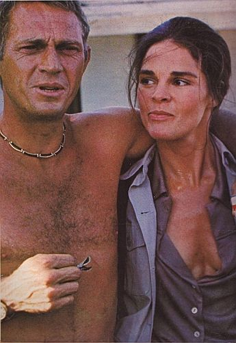 Steve McQueen with Ali McGraw