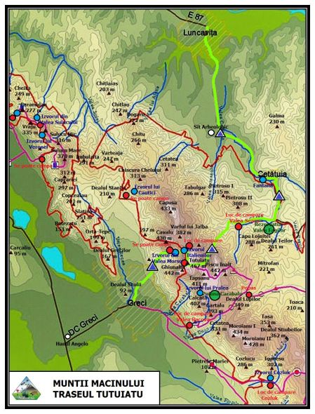 Traseul turistic Tutuiatu