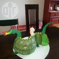 Einfacher Drachenkuchen Zum Kindergeburtstag Rezept Geburtstag