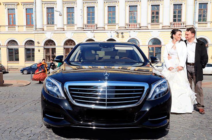 Авто Мерседес на свадьбу в СПб