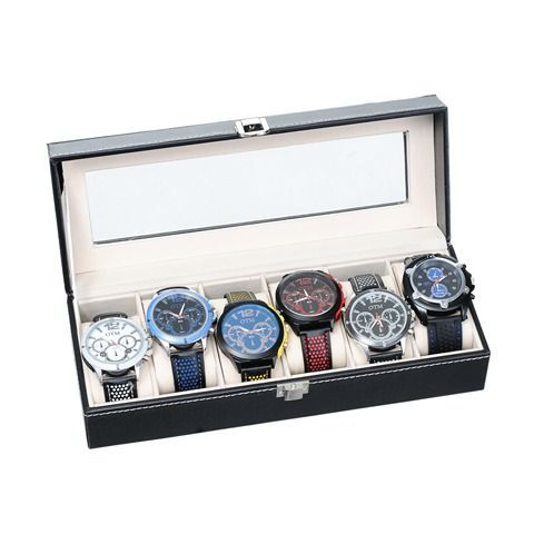 Mad Style | One Coast | WTC 256 | Black 6 Piece Watch Case #mymadstyle