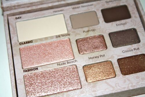 i love velvet revolver. Too Faced natural eye palette