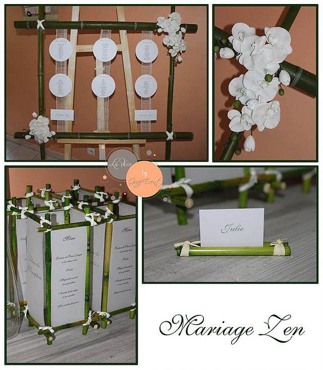 mariage bambou graff event id es deco pinterest. Black Bedroom Furniture Sets. Home Design Ideas