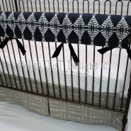 Polka Tot Designs # Tribe #Baby #Bedding #Navy #Taupe #Nursery #Adventure