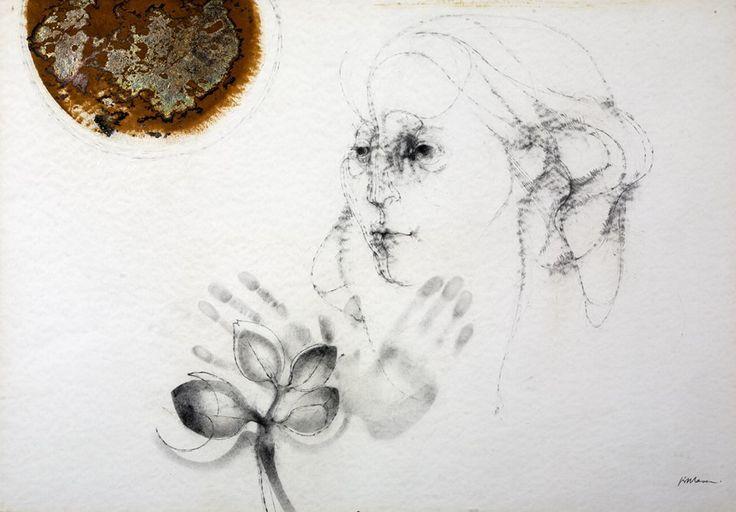 Portrait Study - by Judith Mason