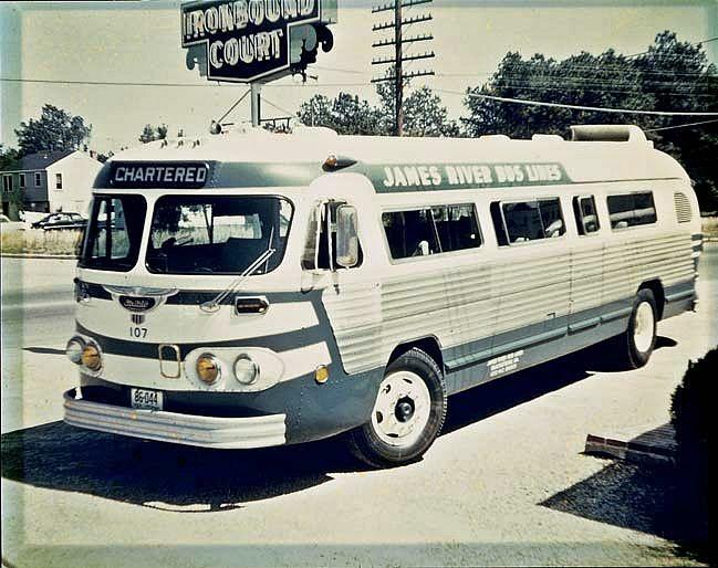 Charter bus, 1954   Vintage Busses