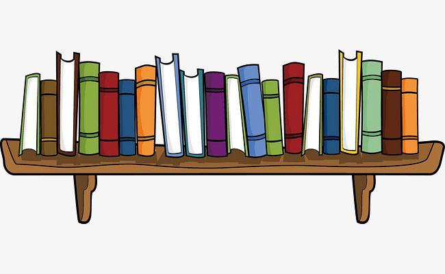 وضع الرفوف كتاب, رف الكتب, الكتاب المدرسي, الكتب PNG وملف PSD للتحميل مجانا  | Book clip art, Painted books, Clip art