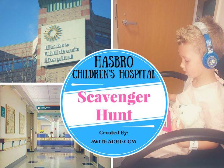 Hasbro children hospital scavenger hunt child life