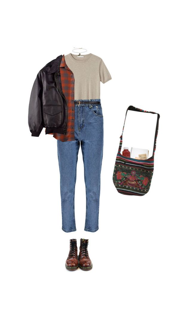 """still together"" by jaxdm ❤ liked on Polyvore featuring Dr. Martens, Boohoo, H&M, RVCA and Topshop"