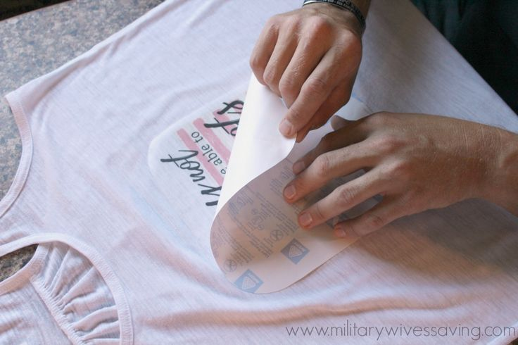 How To Make Your Own Iron-On Transfers With A Printer (with FREE printable)