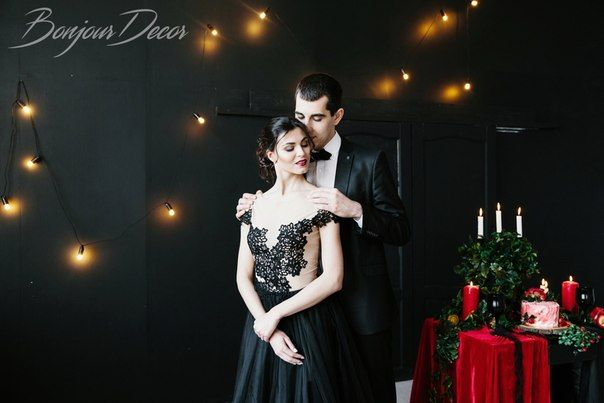 Wedding red and black Inspiration