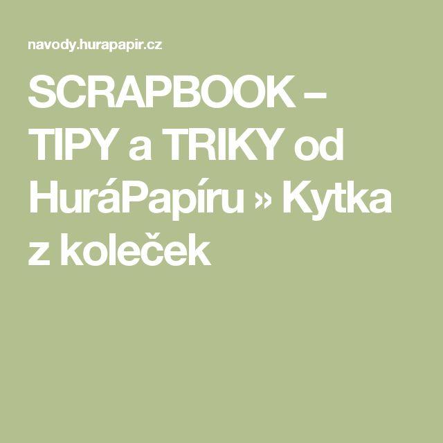 SCRAPBOOK – TIPY a TRIKY od HuráPapíru » Kytka z koleček