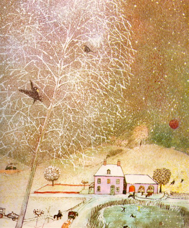 my vintage book collection (in blog form).: Seasons / Winter - illustrated by John Burningham