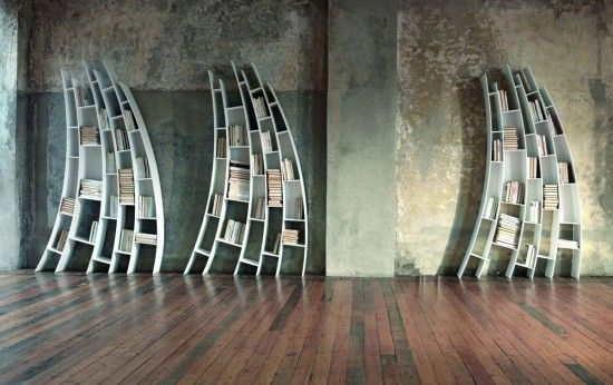 Primo Quarto bookcase designed by Giuseppe Vigano for Saba Italia